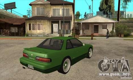 Nissan Silvia S13 1992 Club Ks para la visión correcta GTA San Andreas