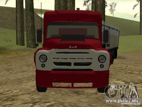 ZIL 130 Tractor para GTA San Andreas left