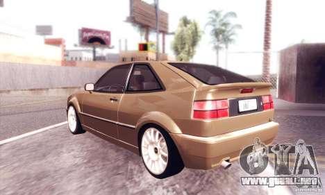 Volkswagen Corrado para la visión correcta GTA San Andreas