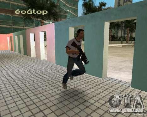 AK-47 con escopeta Underbarrel para GTA Vice City segunda pantalla
