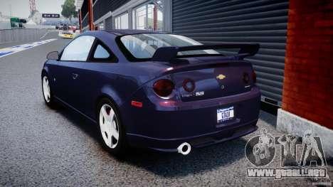 Chevrolet Cobalt SS para GTA 4 Vista posterior izquierda