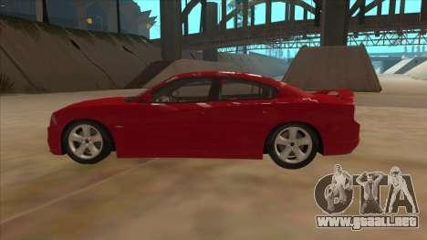 Dodge Charger RT 2011 V1.0 para GTA San Andreas left