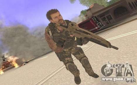 HK XM8 eotech para GTA San Andreas