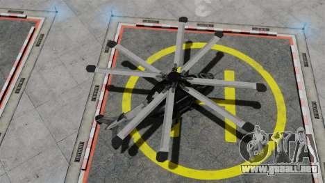 Helicóptero C.E.L.L. para GTA 4 visión correcta