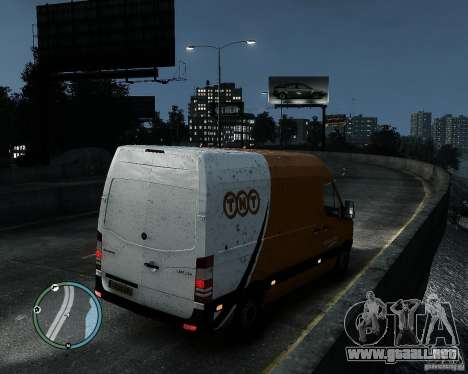 Mercedes-Benz Sprinter TNT para GTA 4 left