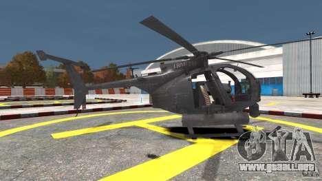 New AH-6 Little Bird para GTA 4 left