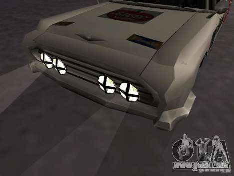 Bloodring Banger (A) de Gta Vice City para GTA San Andreas vista hacia atrás