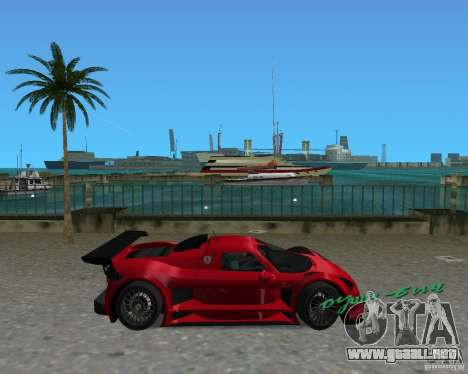 Gumpert Apollo Sport para GTA Vice City left