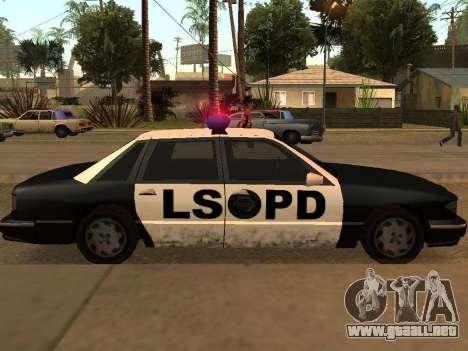 Police Los Santos para la visión correcta GTA San Andreas