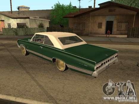 Mercury Park Lane Lowrider para GTA San Andreas left
