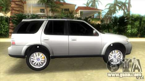 SAAB 9-7X para GTA Vice City left