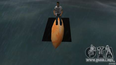 Surfboard 2 para GTA Vice City visión correcta