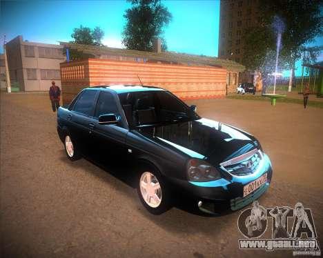Lada Priora Suite para GTA San Andreas