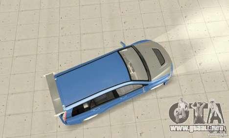 Mitsubishi Lancer Evolution IX Wagon MR Drift para la visión correcta GTA San Andreas
