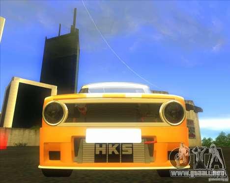 VAZ 2101 explosivas coches tuning para GTA San Andreas vista hacia atrás
