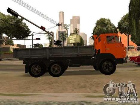 KAMAZ 5320 para GTA San Andreas left