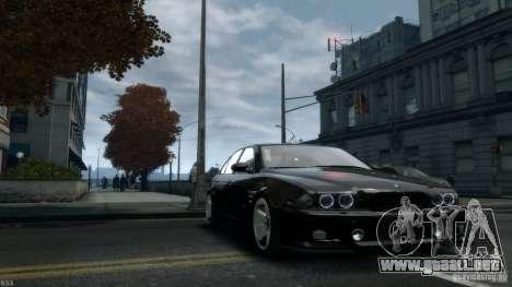 BMW M5 E39 AC Schnitzer Type II v1.0 para GTA 4 vista hacia atrás