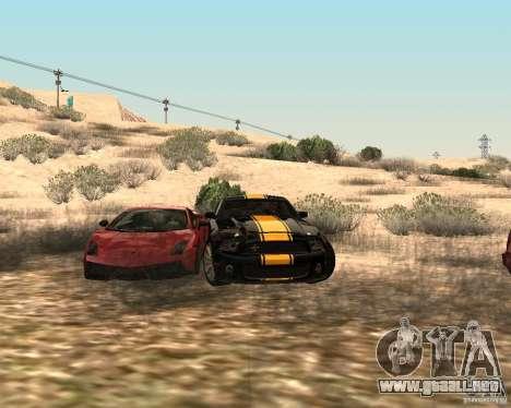 ENBSeries by Nikoo Bel para GTA San Andreas sucesivamente de pantalla