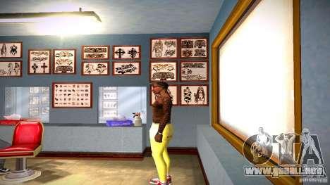 Tres nuevo tatuaje para GTA San Andreas segunda pantalla