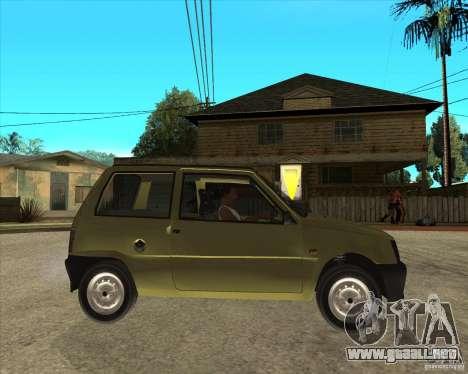 OKA 1111 Kamaz para la visión correcta GTA San Andreas