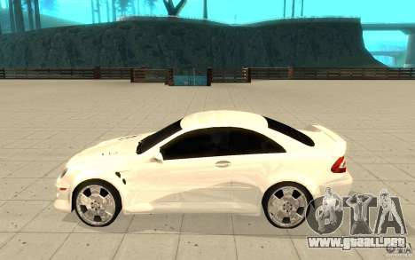 Mercedes-Benz CLK 500 Kompressor para GTA San Andreas left