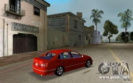 Lexus GS430 para GTA Vice City visión correcta
