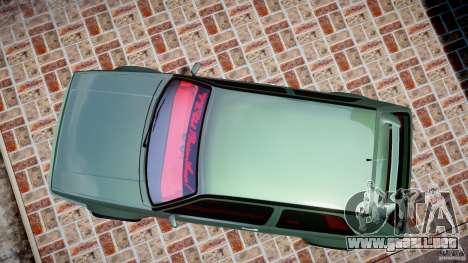 Volkswagen Golf II W8 para GTA 4 visión correcta