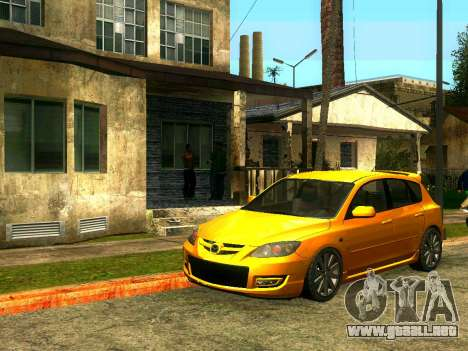Amigos de CJ en el Grove para GTA San Andreas segunda pantalla