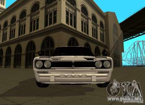 Nissan Skyline 2000 GT-R para visión interna GTA San Andreas