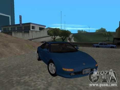 Toyota MR2 GT para GTA San Andreas vista hacia atrás