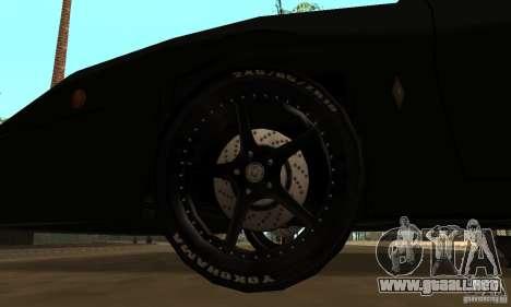 Kits Tuning deporte rueda para GTA San Andreas segunda pantalla