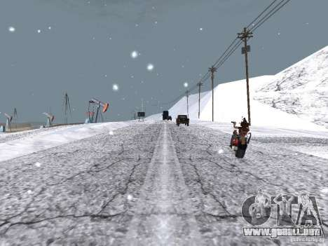 Nieve para GTA San Andreas