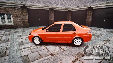 Fiat Albea Sole para GTA 4 left