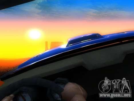 Fire Ball Paint Job 2 para la visión correcta GTA San Andreas