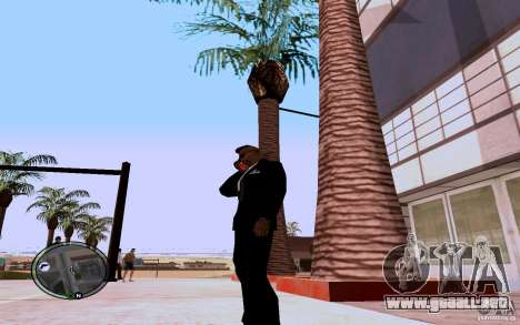 HTC Sensation para GTA San Andreas segunda pantalla