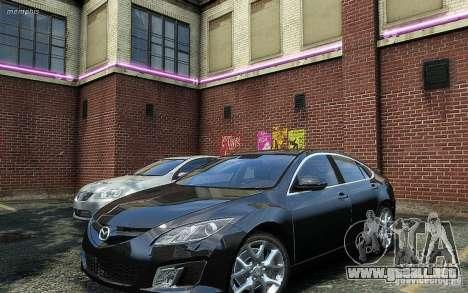 Mazda 6 2008 para GTA 4 visión correcta