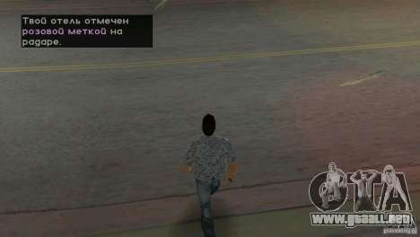 Caminar para GTA Vice City segunda pantalla