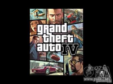 Pantalla de arranque de GTA 4 para GTA San Andreas segunda pantalla