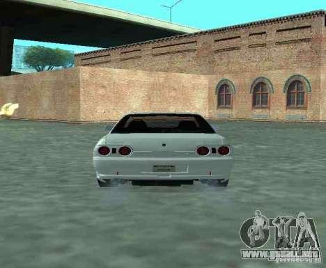 Nissan Skyline R32 GT-R para la visión correcta GTA San Andreas
