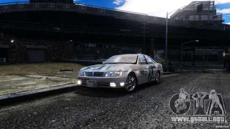 Nissan Laurel GC35 Itasha para GTA 4