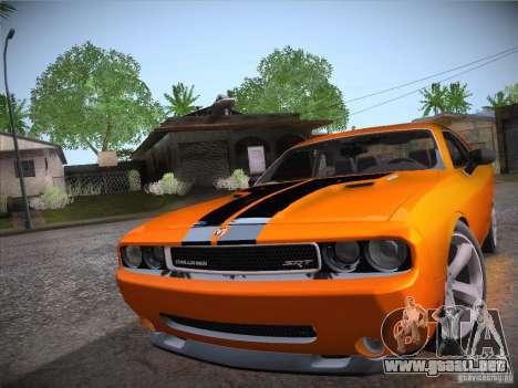 Dodge Challenger SRT8 v1.0 para la visión correcta GTA San Andreas