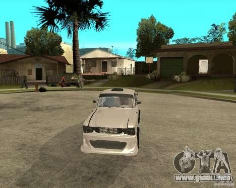 412 AZLK sintonizado para GTA San Andreas vista hacia atrás