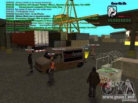 SA:MP 0.3d para GTA San Andreas séptima pantalla