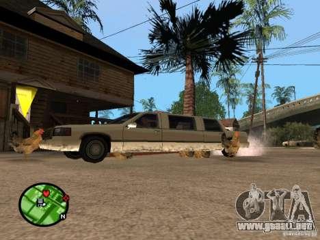 Pollos en GTA San Andreas para GTA San Andreas sucesivamente de pantalla
