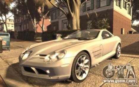 Mercedes-Benz SLR McLaren para GTA 4