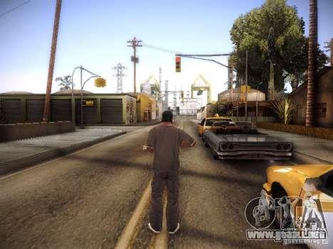 SA DirectX 1.1 Beta para GTA San Andreas sucesivamente de pantalla