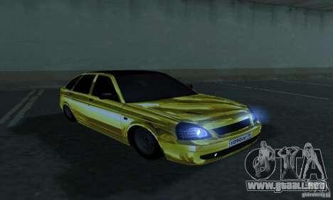 Lada Priora Gold para la visión correcta GTA San Andreas