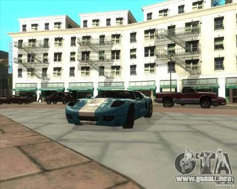MOD de Jyrki para GTA San Andreas sucesivamente de pantalla