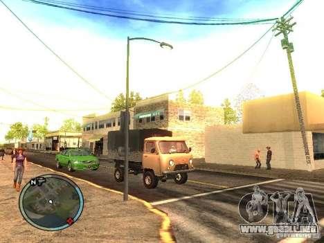UAZ 330364 para GTA San Andreas vista posterior izquierda