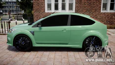 Ford Focus RS para GTA 4 left